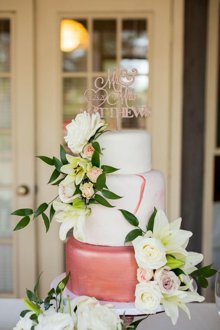 Three-Tier Cake at Minimony in Columbia, South Carolina