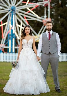 Essense of Australia D2893 A-Line Wedding Dress