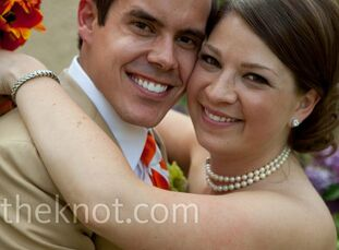 After winning their dream wedding from a Slacker and Steve contest on Alice 105.9 radio, the couple had four months to plan.    The Bride Alanna McLeo