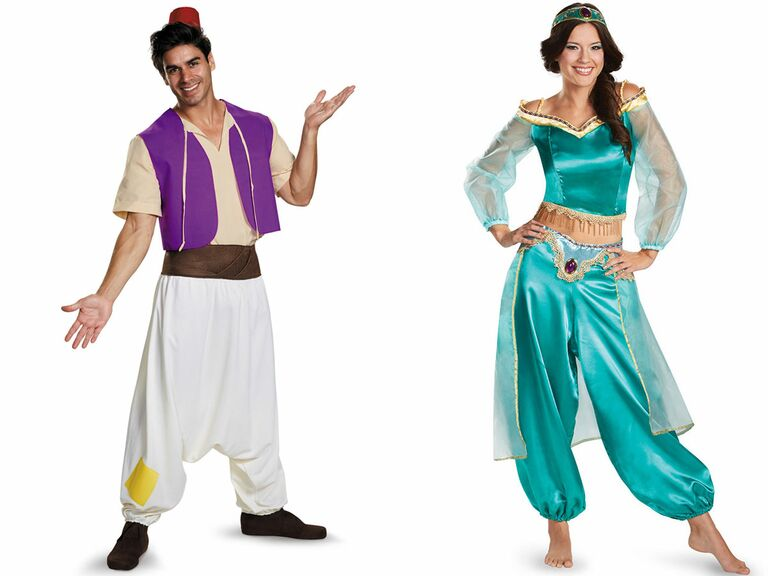 Disney couple costumes Aladdin