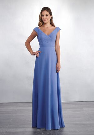 Amalia by Mary's Bridal MB7046 V-Neck Bridesmaid Dress