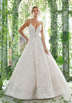 AF Couture: A Division of Morilee by Madeline Gardner Paisley Ball Gown Wedding Dress