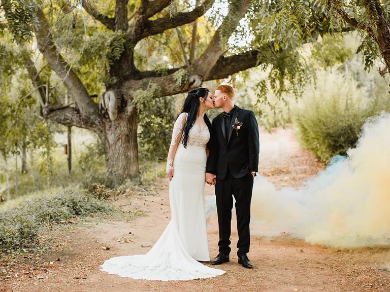 Best Halloween Wedding Ideas: This Gothic Halloween