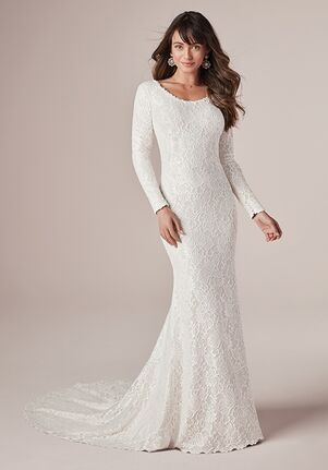 Rebecca Ingram TINA LEIGH 20RW278 Sheath Wedding Dress