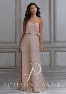 Adrianna Papell Platinum 40113 Sweetheart Bridesmaid Dress