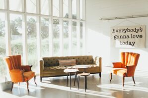 Vintage Furniture in a Contemporary Setting
