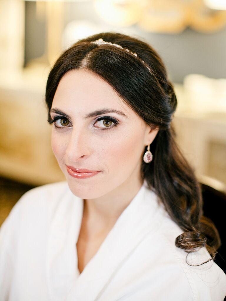 wedding eye makeup hazel eyes silver eyeshadow