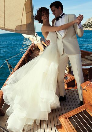 Justin Alexander Bowie Ball Gown Wedding Dress