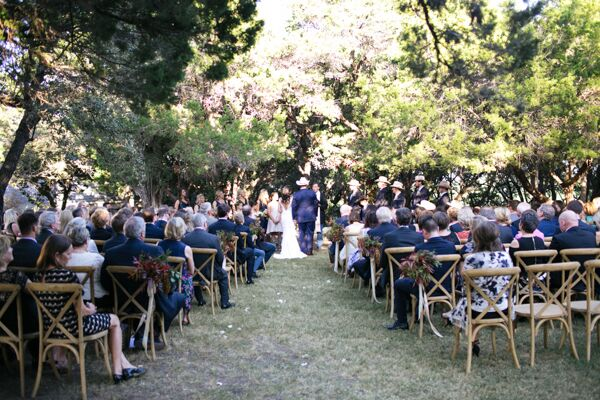 Outdoor Ceremony Under Trees