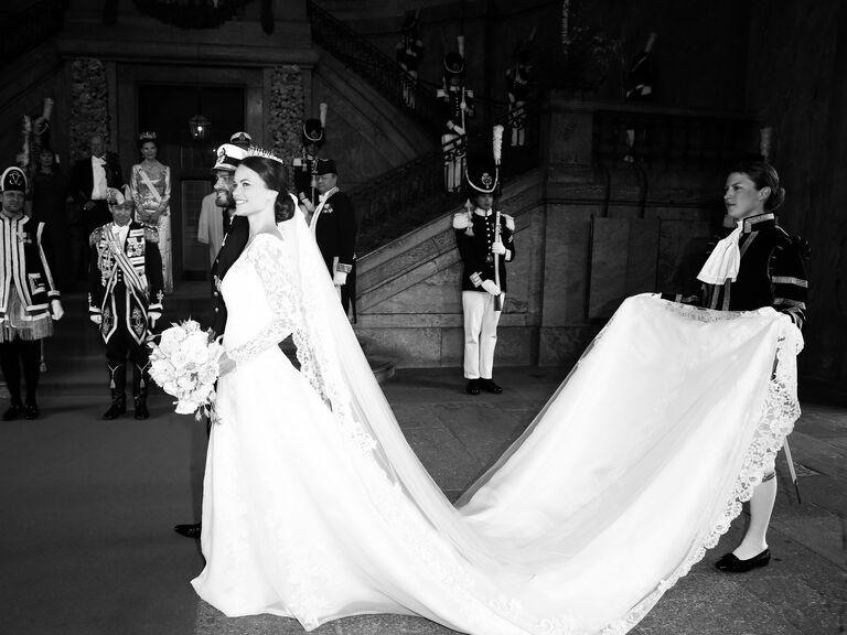 Sofia Hellqvist and Prince Carl Philip's wedding day