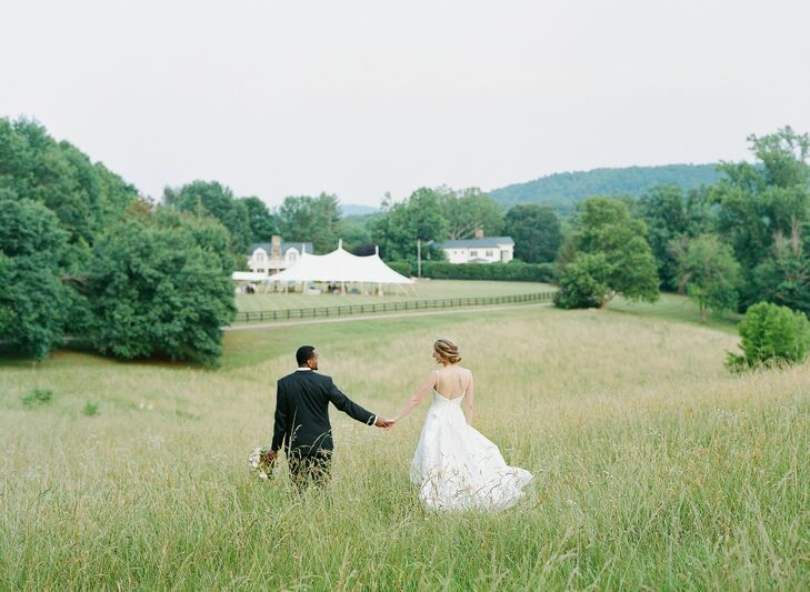 Outdoor Wedding Portraits in Charlottesville, Virginia