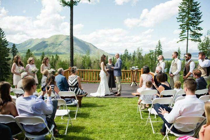 Montana Wedding Venues Reception In Bozeman Mt The Knot