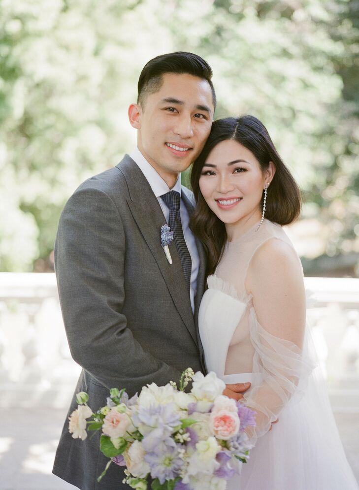 Wedding Portraits at Montalvo Arts Center in Saratoga, California