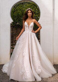 Moonlight Couture H1395 A-Line Wedding Dress