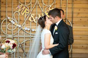 Natural, Romantic Wedding