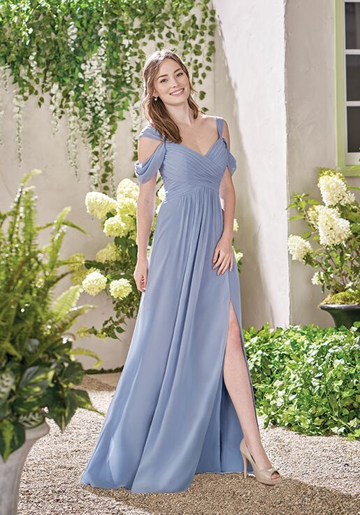 B2 By Jasmine B193011 V Neck Bridesmaid Dress