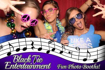 Black Tie Entertainment - Photo Booths