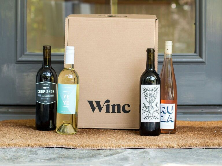 wine subscription unique gift for wife