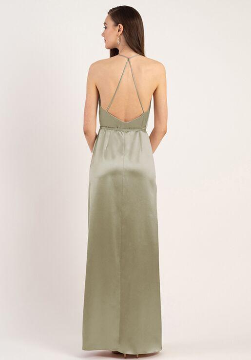 Jenny Yoo Collection (Maids) Lana V-Neck Bridesmaid Dress