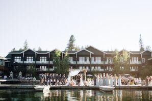 Elegant Lakeside Ceremony