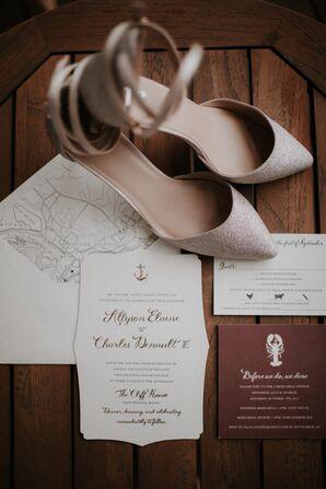 Nautical-Themed Wedding Invitations
