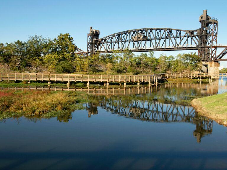 Little Rock Arkansas river bridge