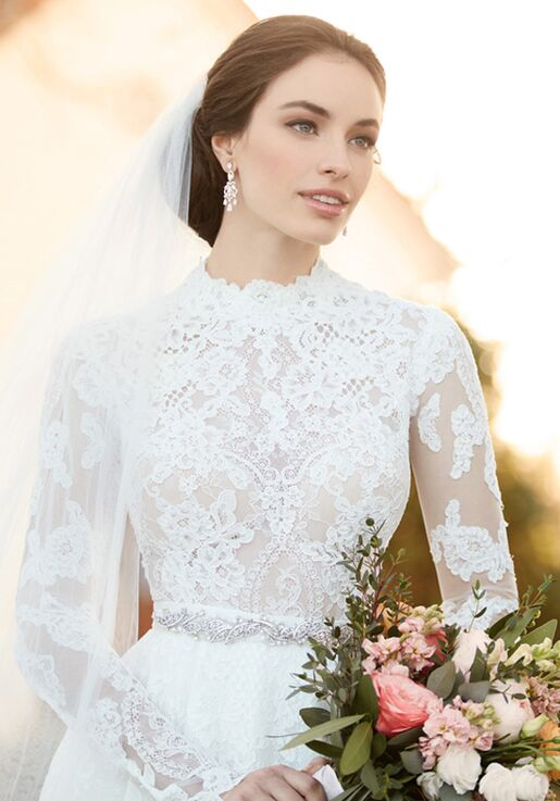 6921b8df693 Martina Liana Carter+Jude+Sander Wedding Dress - The Knot