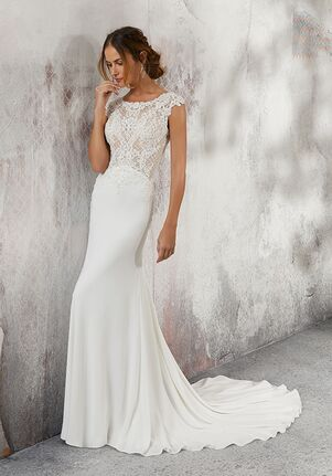 Morilee by Madeline Gardner/Blu 5688 / Lesley Sheath Wedding Dress