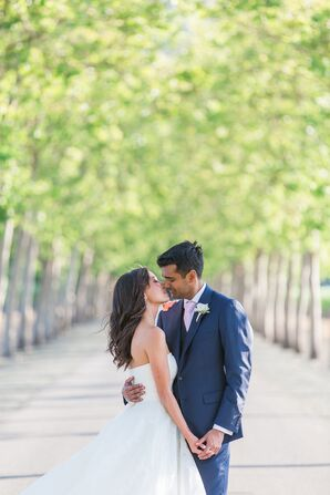 Elegant, Multicultural Garden Wedding