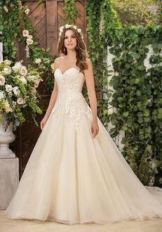 Jasmine Collection F181061 Ball Gown Wedding Dress