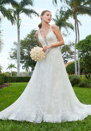 Adrianna Papell Platinum 31171 A-Line Wedding Dress