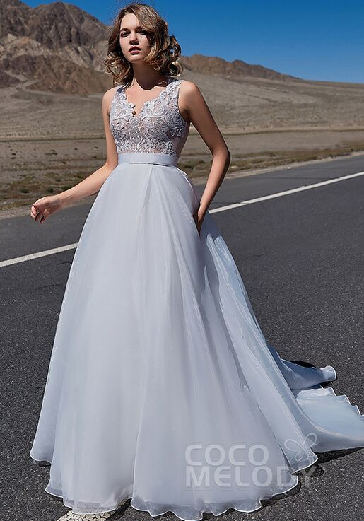Cocomelody Wedding Dresses Ld5860 Wedding Dress The Knot