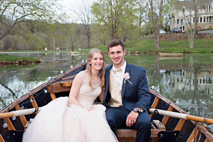 """Taylor and Isaiah were just friends before they began their whirlwind romance. The pair sat beside each other during history class at their Pensacola, Florida, college. After he left for the Marine Corps boot camp, though, """"I started to fall for him,"""" Taylor says."""