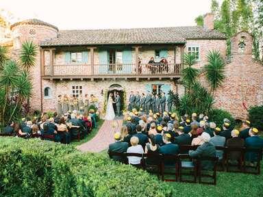 Casa Feliz wedding ceremony