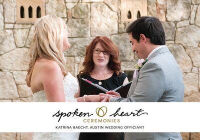 Katrina Baecht at Spoken Heart Ceremonies