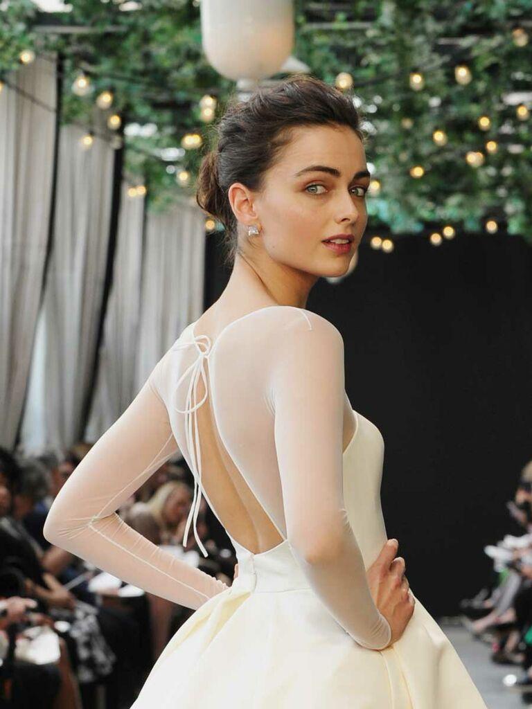Amsale Spring 2019 Collection Bridal Fashion Week Photos