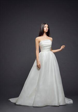 Lazaro 3811 Ball Gown Wedding Dress