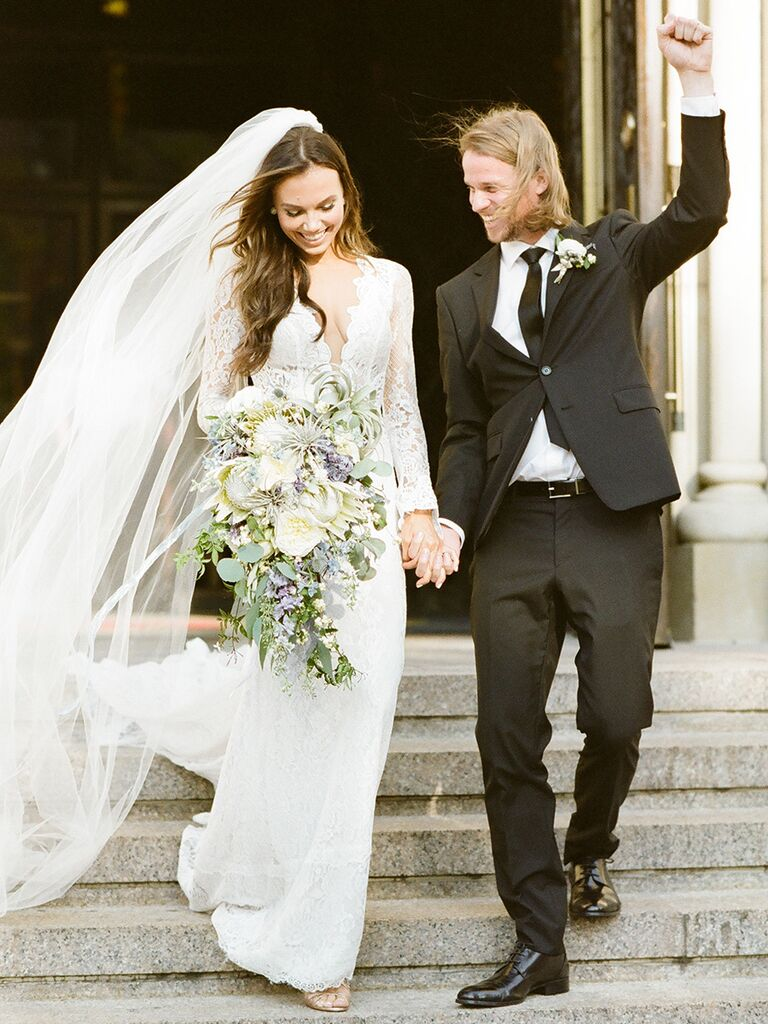 This Is The Most Popular Real Wedding Dress On The Knot