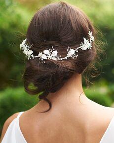 Dareth Colburn Alina Bridal Headband (TI-7007) Gold Headband