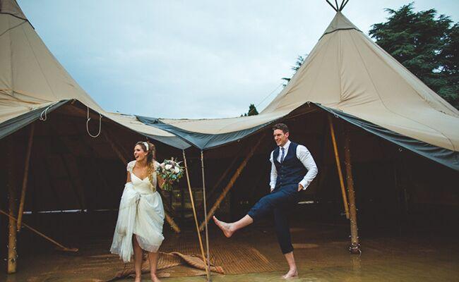 hurricane wedding photography