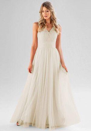 Kennedy Blue Joelle V-Neck Bridesmaid Dress