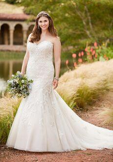 Essense of Australia D2308 Mermaid Wedding Dress