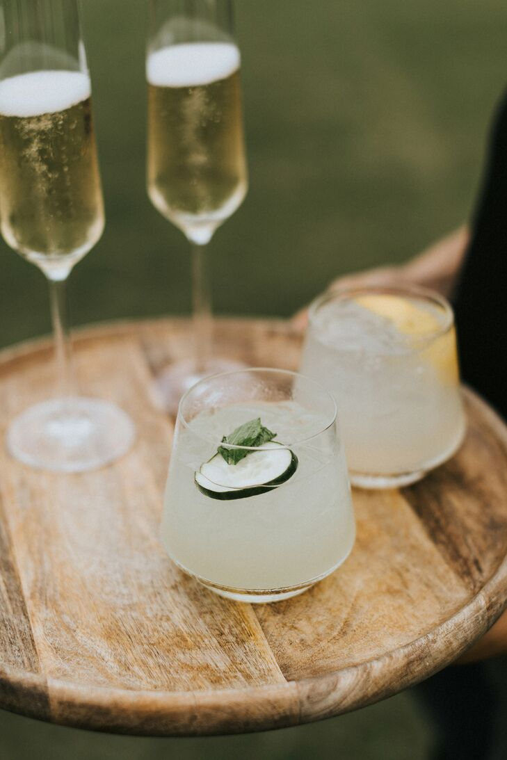 Signature Champagne and Tequila Cocktails