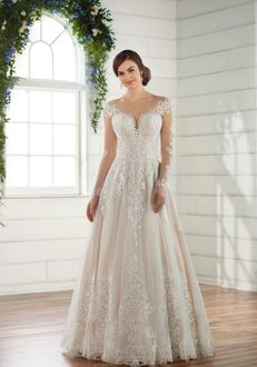 Essense of Australia D2433 A-Line Wedding Dress