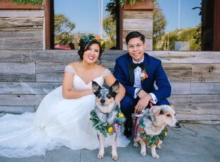 Kristen De Guzman (31 and a financial analyst) and Kevin Agorrilla (31 and a business systems analyst) wanted a fun and comfortable experience for the