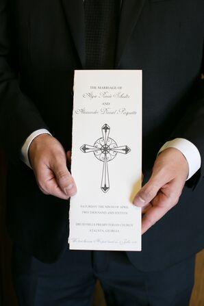 Spiritual Wedding Ceremony Program