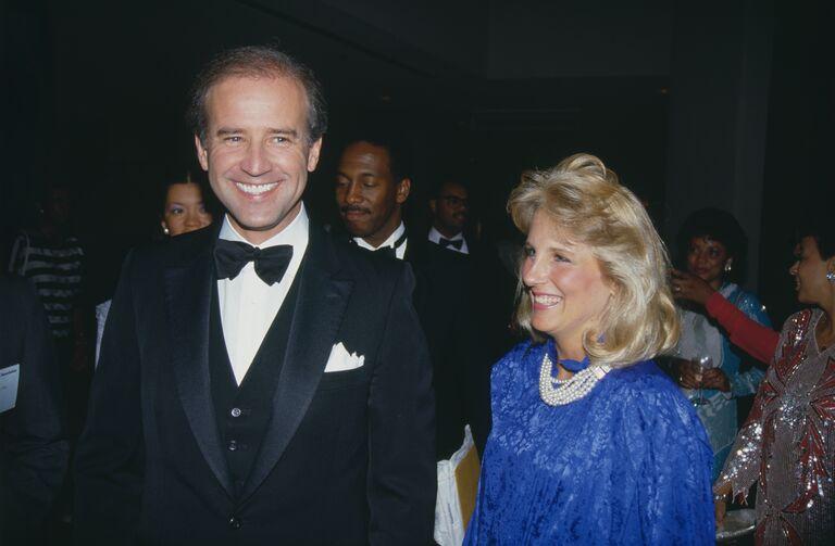the bidens in 1987