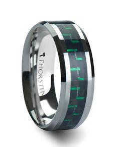 Mens Tungsten Wedding Bands W560-BGCF Tungsten Wedding Ring