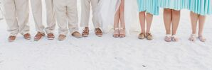 Wedding Party Beach Friendly Shoes