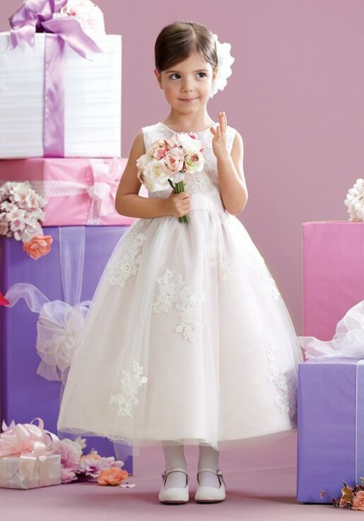 3eb8727ffa Joan Calabrese by Mon Cheri 215341 Flower Girl Dress - The Knot